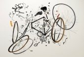 Из частей велосипеда