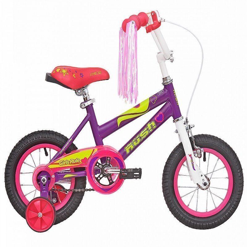 """Велосипед 14"""" RUSH HOUR GIRL RULS"""