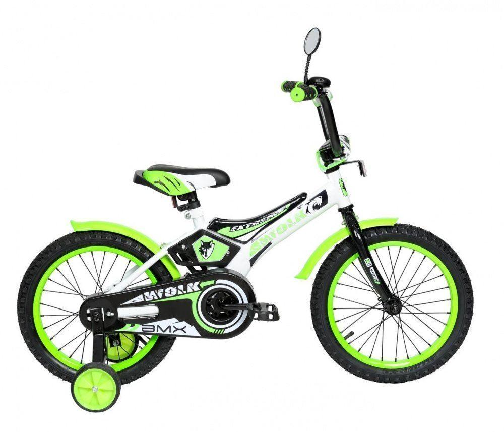 """Детский велосипед Varma 18"""" Wolk, передний тормоз"""