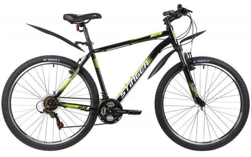 """Велосипед Stinger 27.5"""" CAIMAN, сталь"""