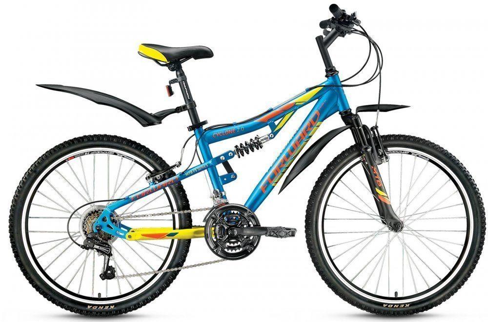 Подростковый велосипед Forward Cyclone 24 2.0
