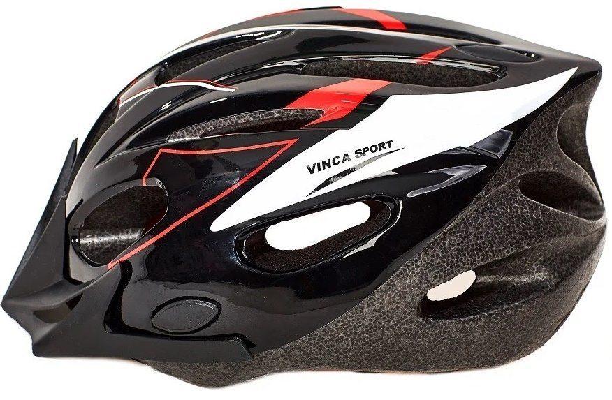 Шлем подростковый, размер М(52-56см), цвет черный, новый дизайн
